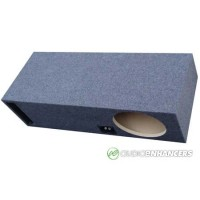 "Ported SUV and Trunk Single or Dual 10"" Subwoofer Box"