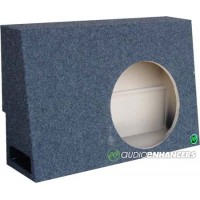 "Ported 07-13 Toyota Tundra Crew Max Single 10"" or Custom 12"" Fit Subwoofer Enclosure"