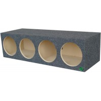 "Quad 10"" Subwoofer Box"