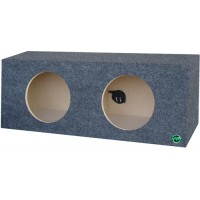 "Dual 10"" Sealed Subwoofer Box"
