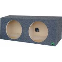 "Dual 12"" Sealed Subwoofer Box"