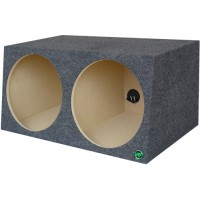 "Dual 15"" Sealed Subwoofer Box"