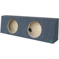 "Regular Cab Trucks - Dual 12"" Subwoofer Box"