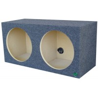 "Pro Square - Dual 12"" or 15"" Subwoofer Box"