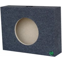 "Shallow Mount - Single 10"" Subwoofer Box"