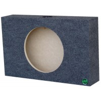 "Shallow Mount - Single 12"" Subwoofer Box"