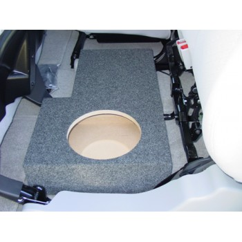 02 13 Avalanche Escalade Single 10 Quot Subwoofer Box