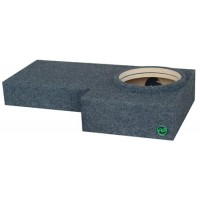"Hummer - Single 10"" Subwoofer Box"
