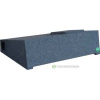 "07-19 New Body Chevrolet/GMC Crew Cab Ported Single 10"" or 12"" Custom Fit Subwoofer Box"