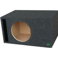 "Digital Design, Sundown Audio and Incriminator Audio 10"" Ported Subwoofer Enclosure by Audio Enhancers"
