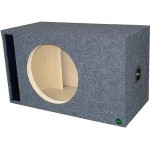 "Digital Design, Sundown Audio and Incriminator Audio 12"" Ported Subwoofer Enclosure by Audio Enhancers"