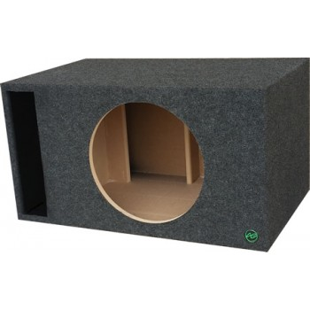 "Digital Design, Sundown Audio and Incriminator Audio 15"" Ported Subwoofer Enclosure by Audio Enhancers"