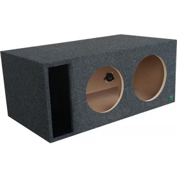 "Digital Design, Sundown Audio and Incriminator Audio Dual 10"" Ported Subwoofer Enclosure by Audio Enhancers"