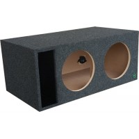 "Digital Design, Sundown Audio and Incriminator Audio Dual 12"" Ported Subwoofer Enclosure by Audio Enhancers"