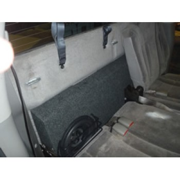 00-04 Dodge Dakota Four-Door Quad - Subwoofer Box