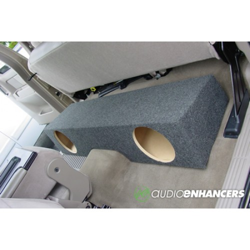 Gmx X on Nissan Frontier Crew Cab Subwoofer Box