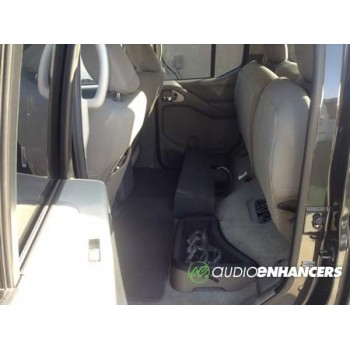 """05-18 Nissan Frontier - Single 8"""" or 10"""" Subwoofer Box"""