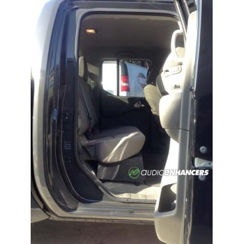 """05-20 Nissan Frontier - Single 8"""" or 10"""" Subwoofer Box"""