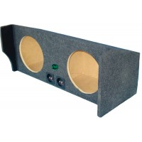 "01-20 Nissan Frontier - Dual 10"" or 12"" Subwoofer Box"