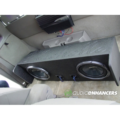 """Dual 10"""" Or 12"""" Subwoofer Box"""