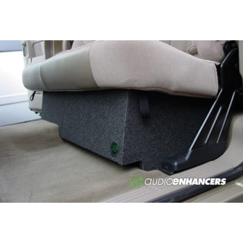 """99-07 Classic Ported Chevrolet/GMC Extended Cab - Single 10"""" or 12"""" Custom Fit Subwoofer Box"""