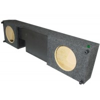 "04-08 F150 Crew/Extended Cab - Dual 10"" Sub Box"