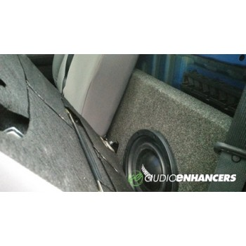 Audio Enhancers Ported 05-18 Toyota Tacoma Double Cab Subwoofer Enclosure Box