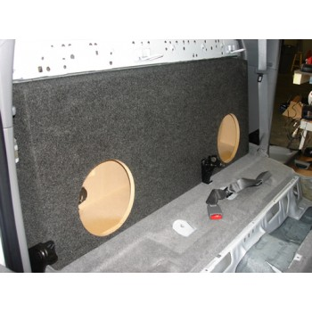 "05-15 Toyota Tacoma - Dual 10"" or 12"" Subwoofer Box"