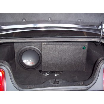 """05-15 Ford Mustang - Single 12"""" Ported Sub Box"""