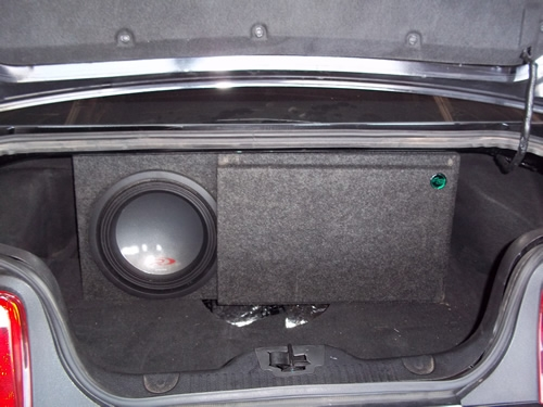 05 15 Ford Mustang Single 12 Quot Ported Sub Box