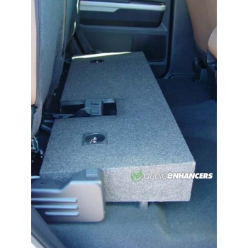"07-17 Toyota Tundra - Dual 10"" or 12"" Subwoofer Box"