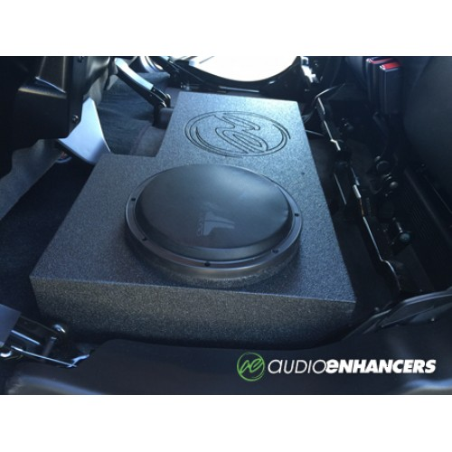 X X on Nissan Frontier Crew Cab Subwoofer Box